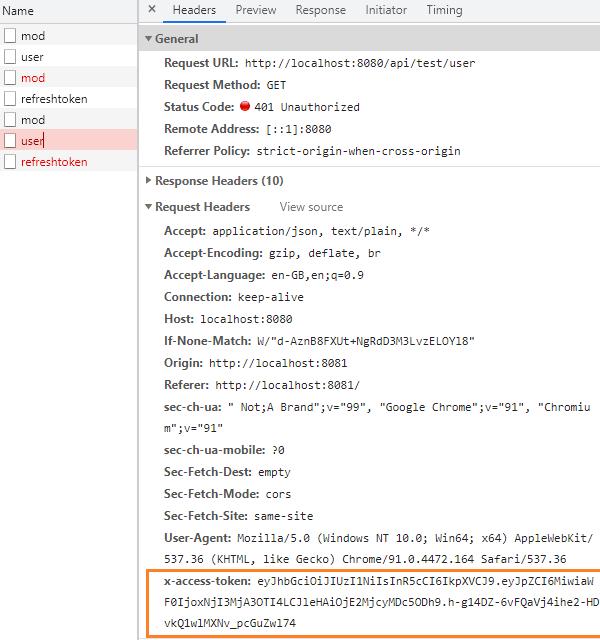 react-refresh-token-jwt-axios-interceptors-new-access-token-expired