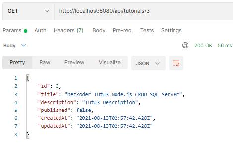 node-js-crud-example-sql-server-mssql-retrieve-one-tutorial