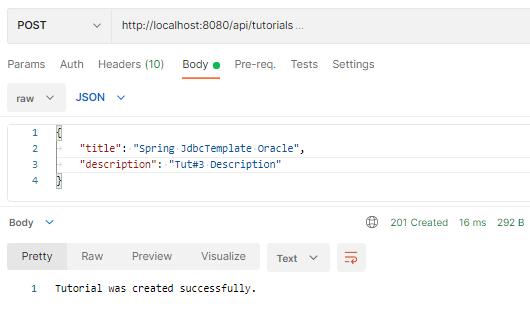 spring-boot-jdbctemplate-example-oracle-crud-create-tutorial