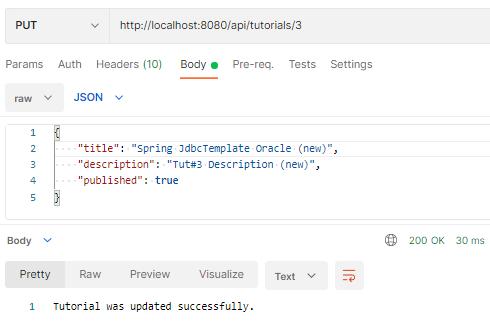spring-boot-jdbctemplate-example-oracle-crud-update-tutorial